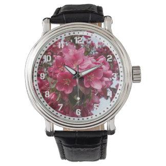 野生リンゴの花 腕時計