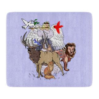野生動物のまな板の天使 カッティングボード