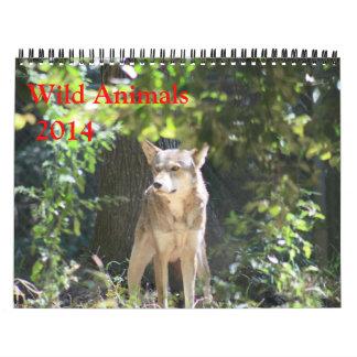 野生動物のカレンダー カレンダー