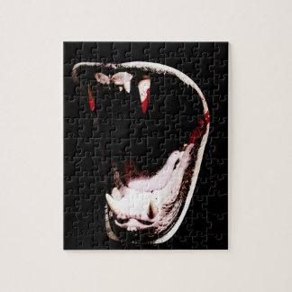 野生動物の歯の牙 ジグソーパズル