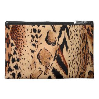野生動物パターン トラベルアクセサリーバッグ
