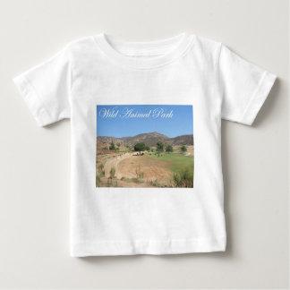 野生動物公園 ベビーTシャツ