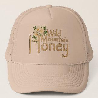 野生山の蜂蜜のトラック運転手の帽子 キャップ