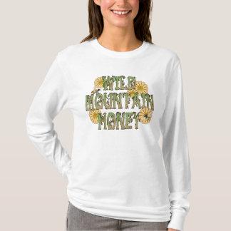 野生山の蜂蜜のTシャツ Tシャツ