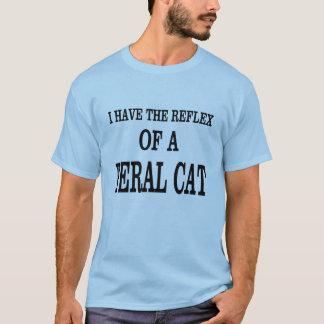 野生猫の反射! Tシャツ