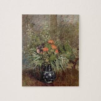 野生花のアルフレッド・シスレー の静物画 ジグソーパズル