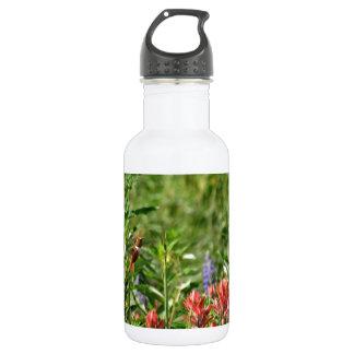野生花のハチドリ ウォーターボトル