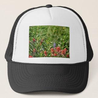 野生花のハチドリ キャップ