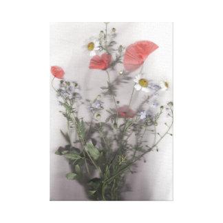 野生花の花束 キャンバスプリント