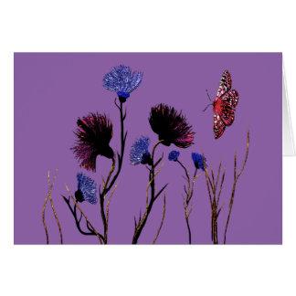 野生花の芸術 カード