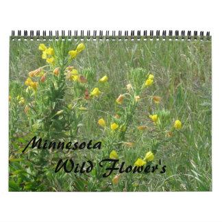 野生花 カレンダー