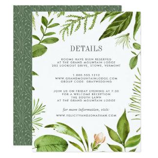 野生草原のゲストの情報カード カード