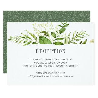 野生草原の披露宴カード 8.9 X 12.7 インビテーションカード