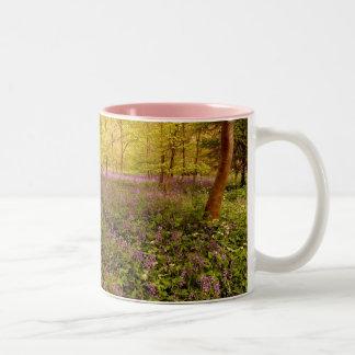 """野生hyacinth """"非scripta """" scilla ツートーンマグカップ"""