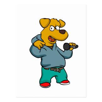 野良犬の話し手 ポストカード