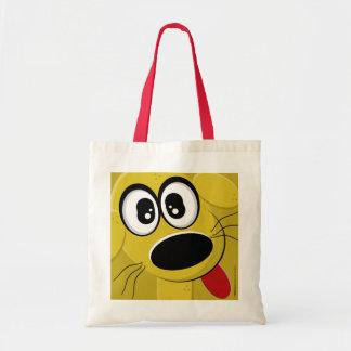 野良犬の顔 トートバッグ