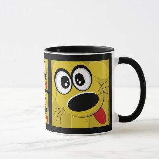 野良犬の顔 マグカップ