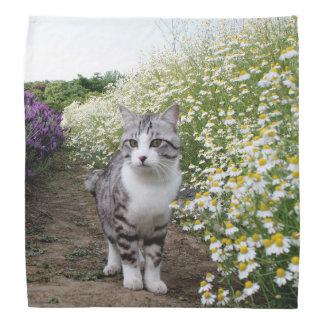 野良猫ニャン吉【カモミール】 バンダナ
