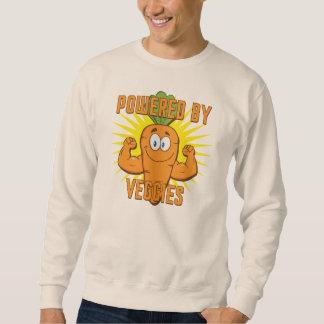 野菜によって動力を与えられる スウェットシャツ