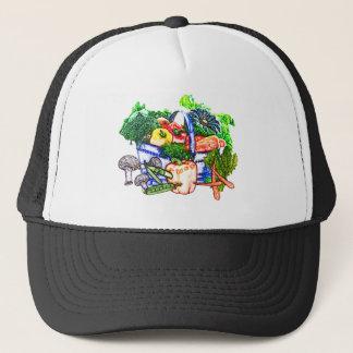 野菜のバスケット キャップ