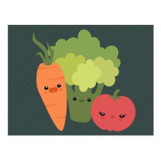 野菜の友人 ポストカード