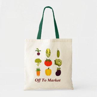 野菜の恋人の買い物袋 トートバッグ