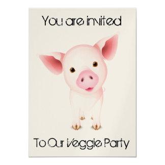野菜の招待状カード カード