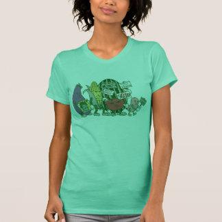 野菜の殴打 Tシャツ