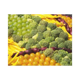 野菜の芸術 キャンバスプリント