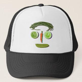 野菜の顔 キャップ