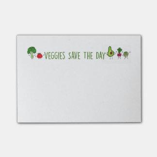 野菜は日のポスト・イットを救います ポストイット