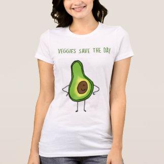 野菜は日(アボカド)のTシャツを救います Tシャツ