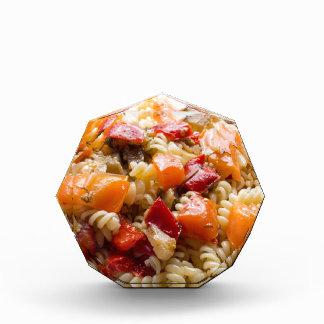 野菜ソースとのイタリアンなパスタのfusilli 表彰盾