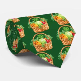 野菜バスケットのタイ ネクタイ