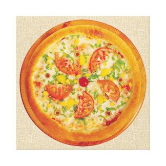 野菜ピザ キャンバスプリント