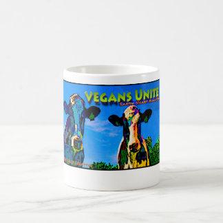 野菜及びビーガンは結合します! (飲み物の容器及びマグ) コーヒーマグカップ