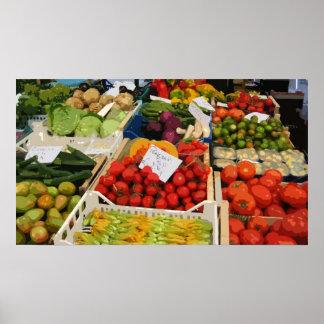 野菜市場 ポスター