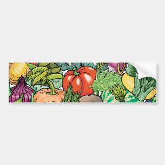 野菜庭師 バンパーステッカー