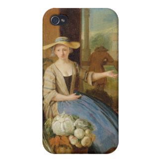 野菜販売人、コヴェント・ガーデン、c.1726 (paの油 iPhone 4/4Sケース