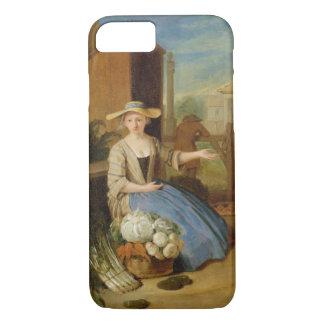 野菜販売人、コヴェント・ガーデン、c.1726 (paの油 iPhone 8/7ケース