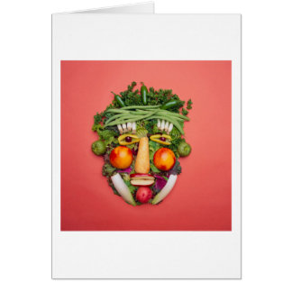 野菜顔 カード