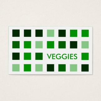 野菜(モダンな正方形) 名刺