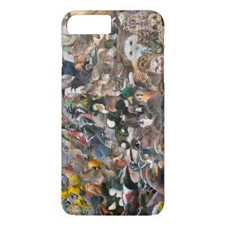 野鳥観察大きい年 iPhone 8 PLUS/7 PLUSケース