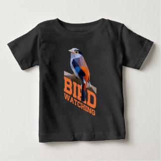 野鳥観察 ベビーTシャツ