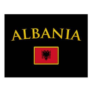 金アルバニア ポストカード