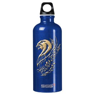 金オオカミの青 ウォーターボトル