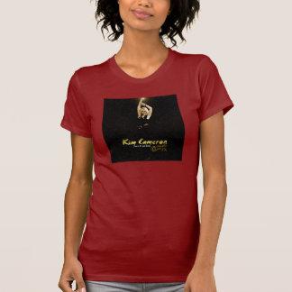 金カメロン及び側面FXは袖のTシャツをショートさせます Tシャツ