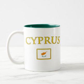 金キプロス ツートーンマグカップ