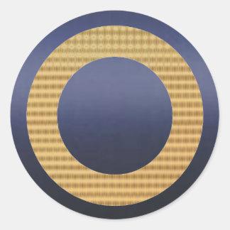 金ギフトの鑑定器-濃紺 ラウンドシール