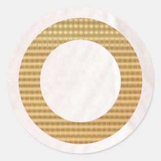 金ギフトの鑑定器-白い真珠 ラウンドシール